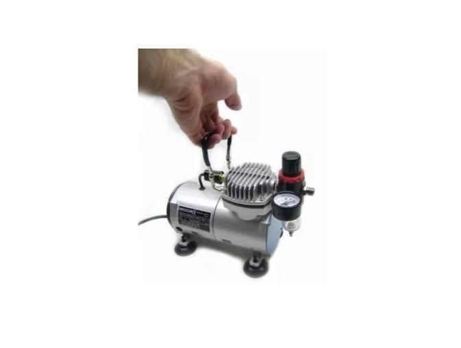 Compressor  para Aerógrafos com Filtro Regulador Bivolt COMP-1 WIMPEL