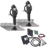 """Lenco 9"""" X 12"""" Standard Trim Tab Kit Led Integrated 12V"""