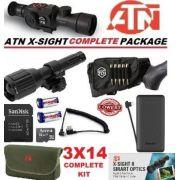 Mira Atn X Sight Ii Hd Ir Night Vision 3-14 Kit Completo