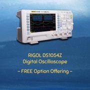 Osciloscópio Digital Rigol Ds1054Z 50Mhz 4 Canais De 50Mhz