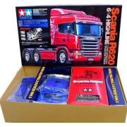 Tamiya 56327 1/14 Rc Scania R620 6X4 Highline Tractor Truck
