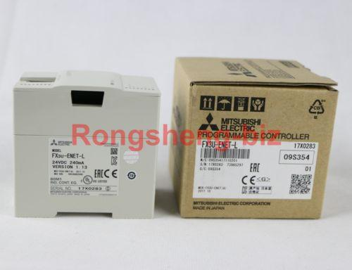 1Pc Mitsubishi Fx3U-Enet-L Plc#Rs08