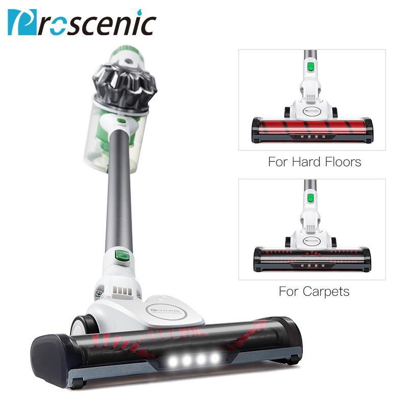 Aspirador De Pó 15000Pa  Led Light Stick Handheld 3 In 1