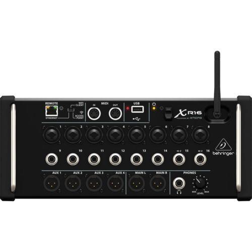 Behringer X Air Xr16 16-Input Digital Live Sound Midi