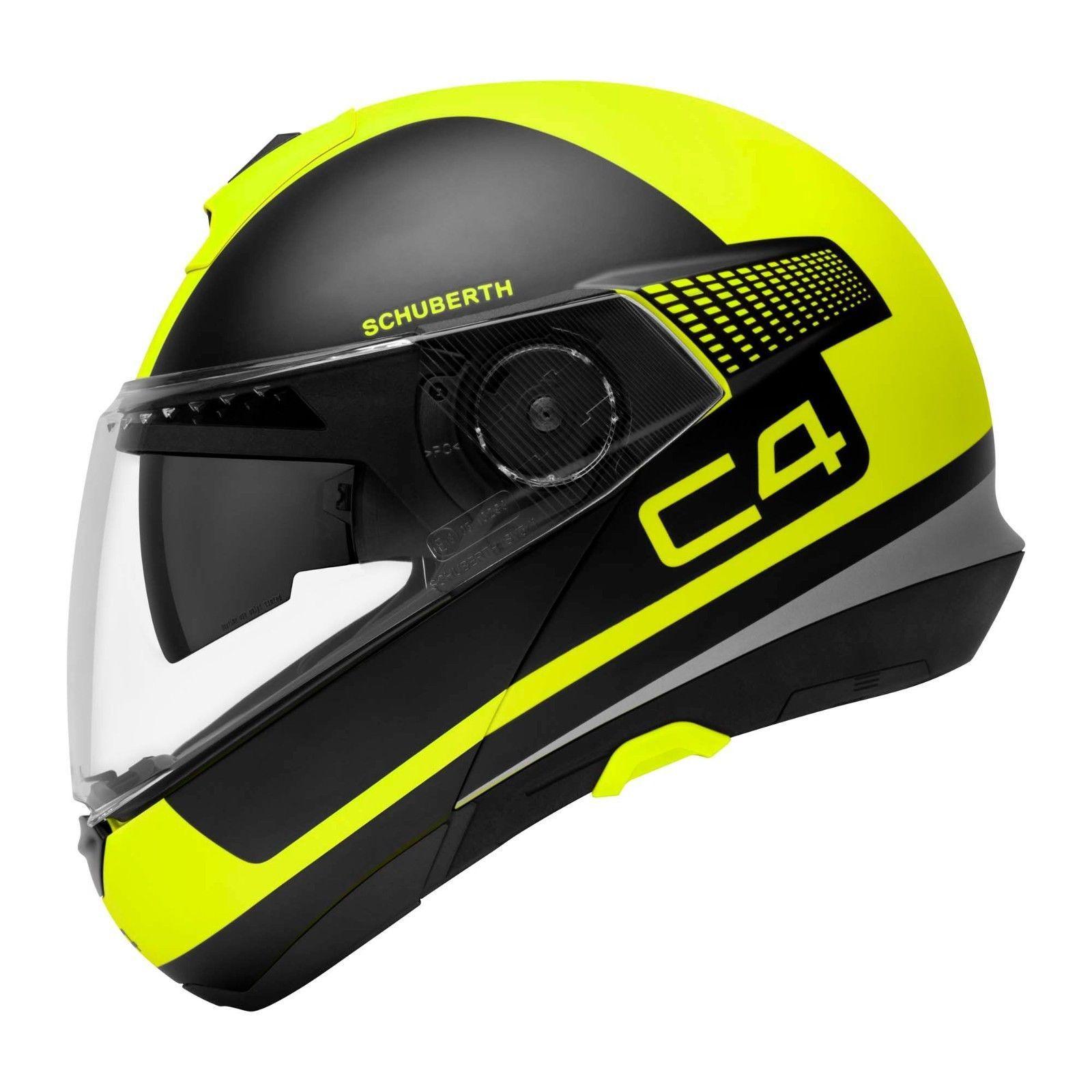 Capacete Schuberth C4 Legacy Black Yellow - C-4