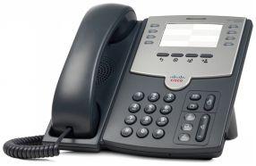 Cisco Voip Spa501-G 08 Linhas Ip Phone Com Poe.