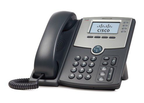 Cisco Voip Spa504G 04 Linhas Ip Phone Com Poe