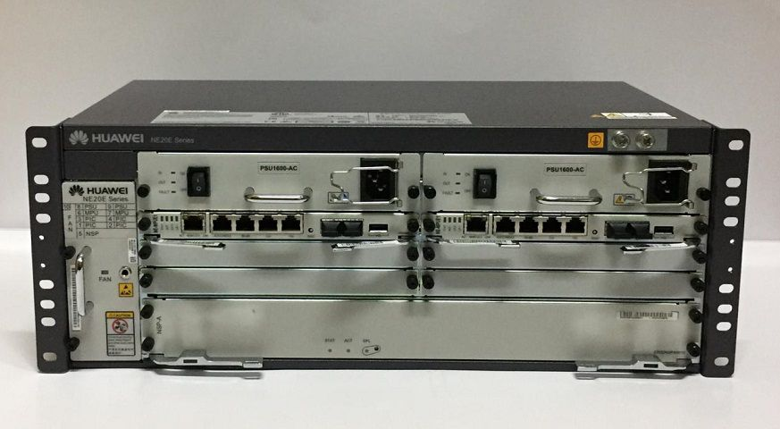 Huawei Router Ne20E-S4 (Chassis 2*Mpue1 2*Ac)