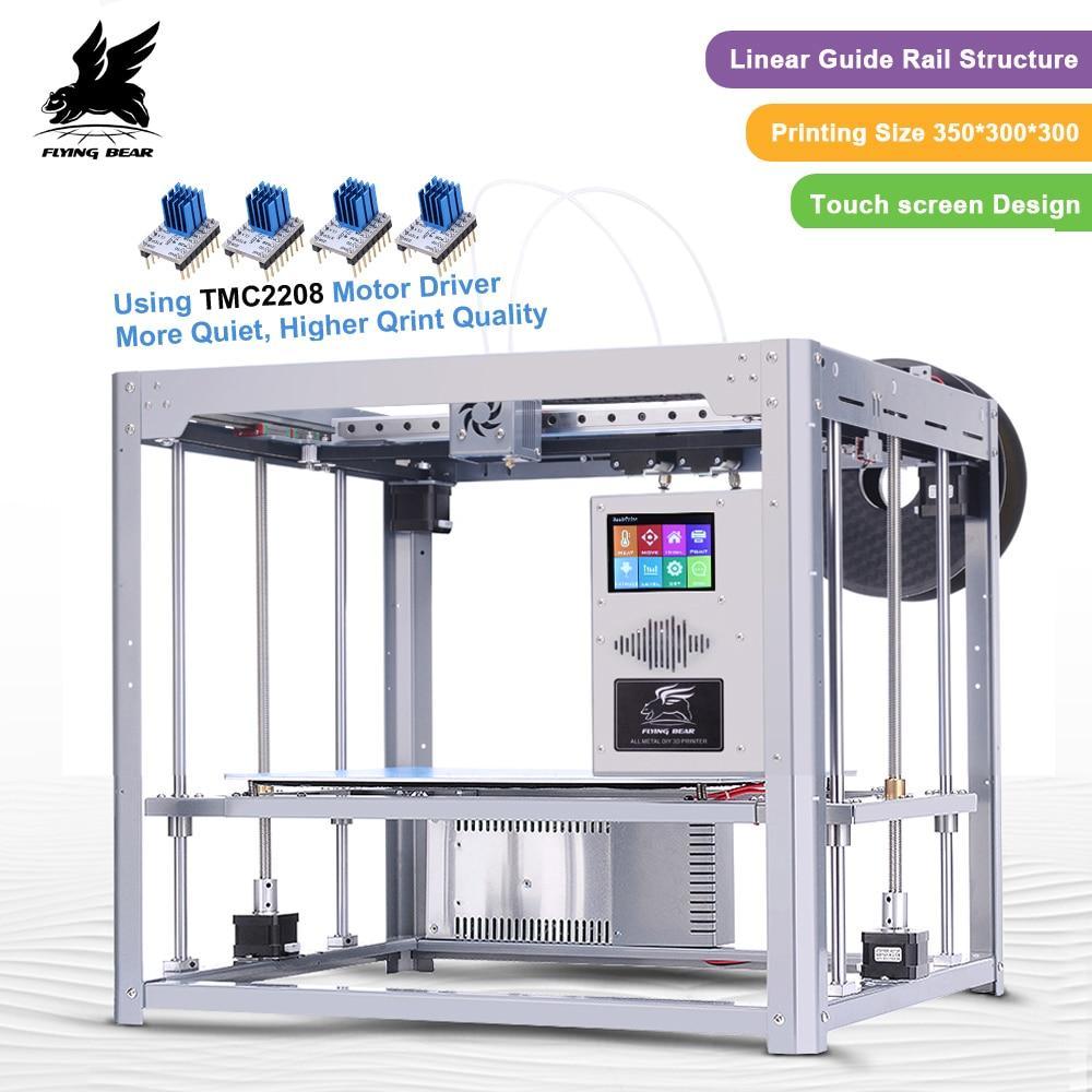 Impressora 3D Diy Full Metal Flyingbear Tornado Dupla Ext