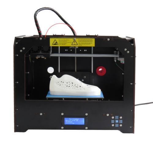 Impressora 3D Mk8 Bizer Fdm Dupla Ext Makerbot Rep Pla/Abs