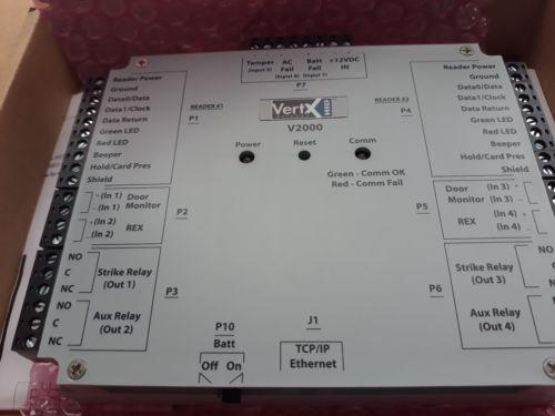 Interface De Leitor Hid Vertx V2000 / Controlador Em Rede