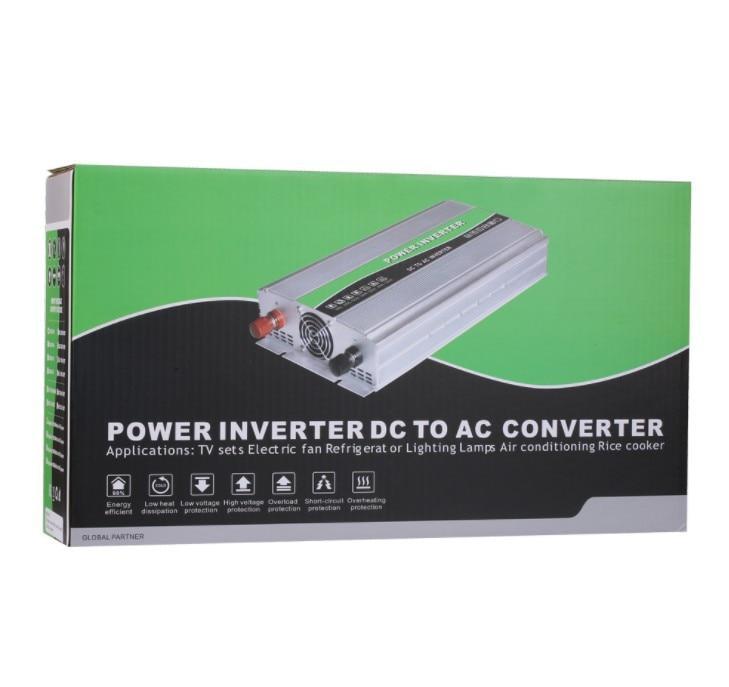 Inversor De Onda Senoidal Solar 2000W  12V Para 220V