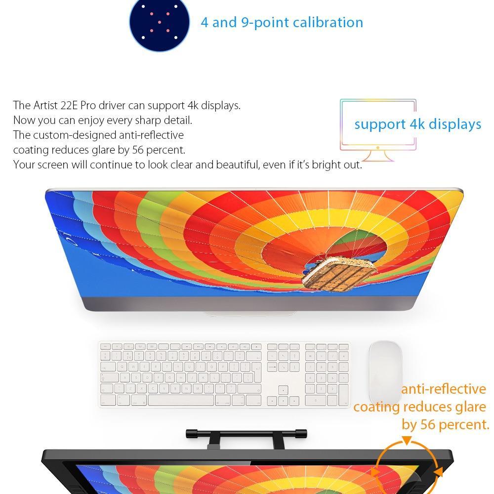 Mesa Digitalizadora Xp-Pen 22E Pro Hd Ips Pen Tablet