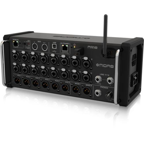 Mesa Midas Mr18 18-Input Ios/Android Tablets Preamps Wifi