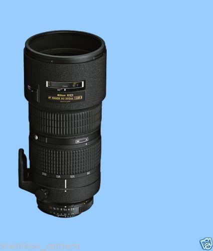 Nikon Af Zoom-Nikkor 80-200Mm F2.8 D Ed Lente Tele F / 2.8D