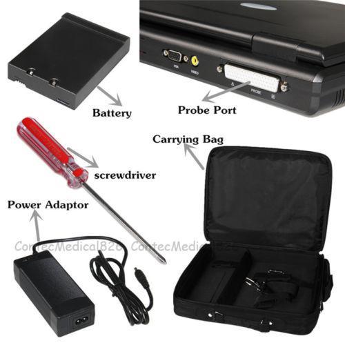 Portable Laptop Machine Digital Ultrasom Scanner, 3.5 Convex