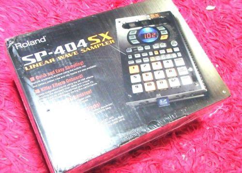 Roland Sp-404Sx Portable Linear Wave Sampler W/ Dsp