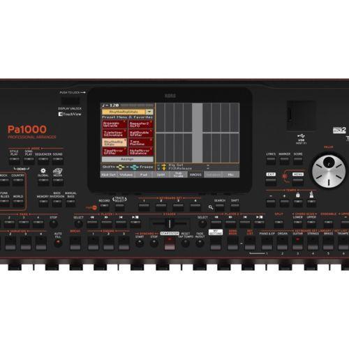 Teclado Korg Pa1000 61Key Pro Arranger Semiweighted Usb Midi