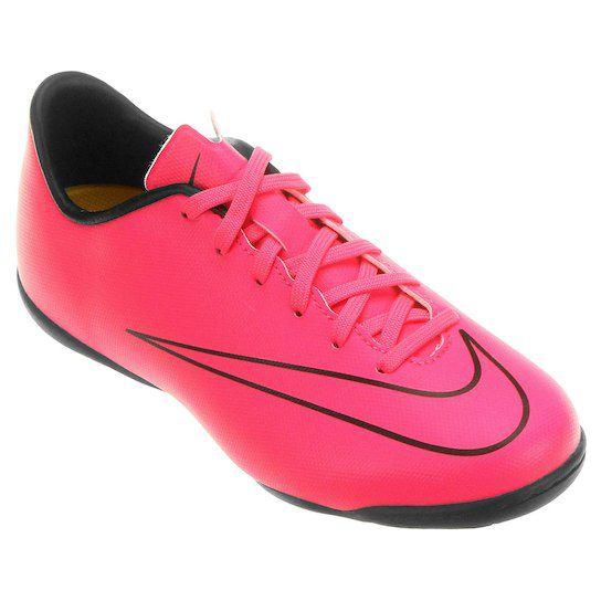 7fee9ae2ab3a2 Chuteira Futsal Nike Mercurial Victory 5 IC Juvenil - Shock Sports
