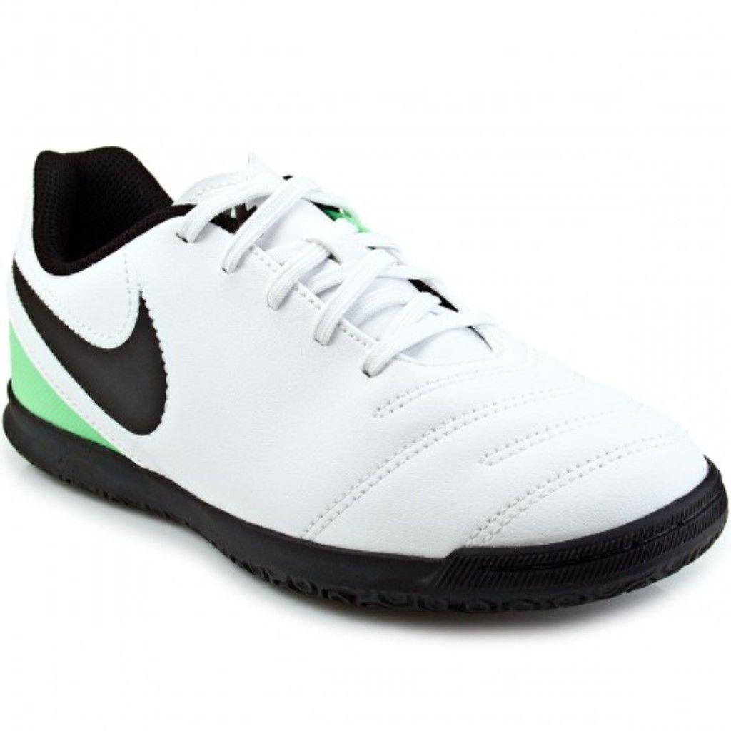 Chuteira Futsal Nike Tiempo Rio 3 IC Infantil Menino caf71671fa020