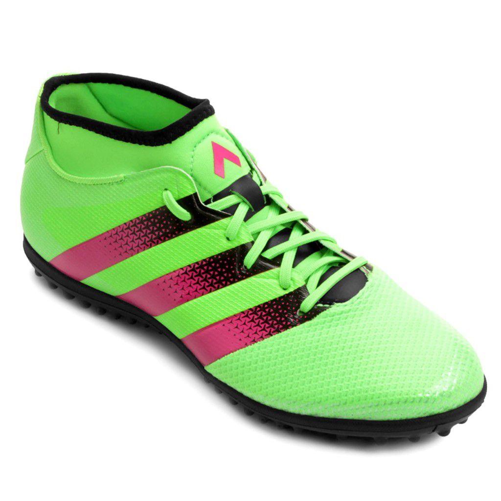 Chuteira Society Adidas Ace 16.3 Primemesh TF Masculino 1d1042d774fd9