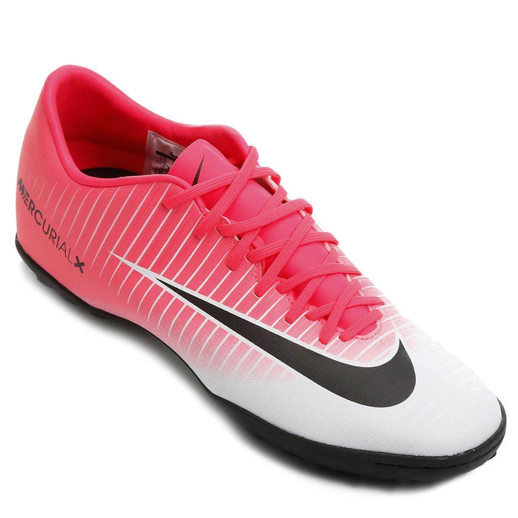 Chuteira Society Nike Mercurial Victory 6 TF Masculino cb948edb1feb3