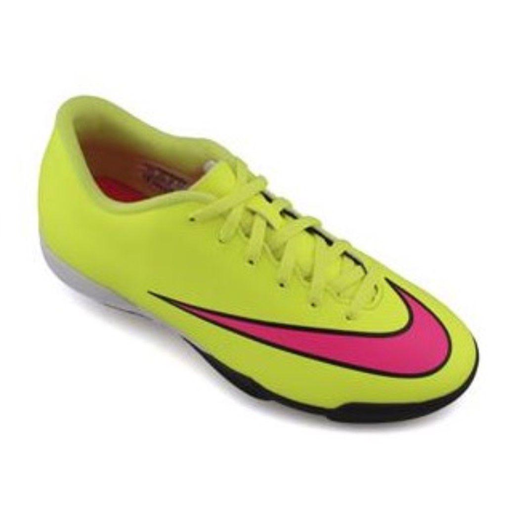 286fe4fca6 Chuteira Society Nike Mercurial Vortex 2 TF Juvenil Menino