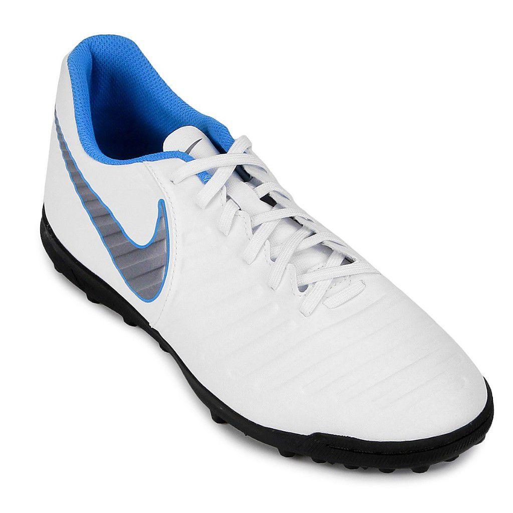 Chuteira Society Nike Tiempo Legend 7 Club TF Masculino 8b7d09683a45a