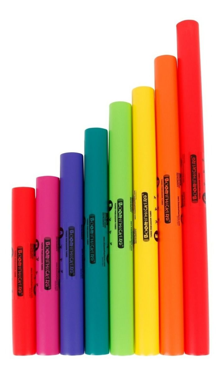 Boomwhackers Kit DÓ maior 8 notas BWDG