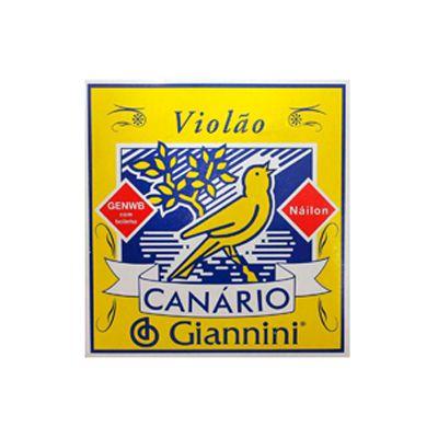 Encordoamento Giannini Violão GENWB Nylon Com Bolinha