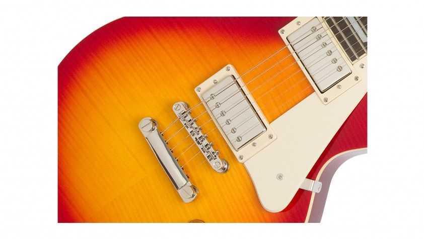Guitarra Epiphone Les Paul Standard Top Plus Pro Heritage Cherry Sunburst