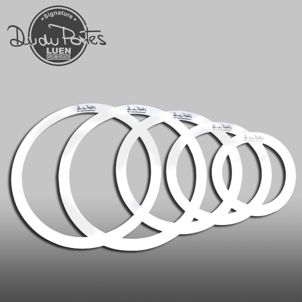 """Kit Muffle Ring Luen Dudu Portes Fusion 8"""" 10"""" 12"""" 14"""" 14"""""""