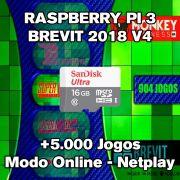 Console Retro Brevit - Recalbox - Cartão 64gb - MonkeyBusinessBR