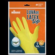 Luva Latéx G Amarelo - Nobre