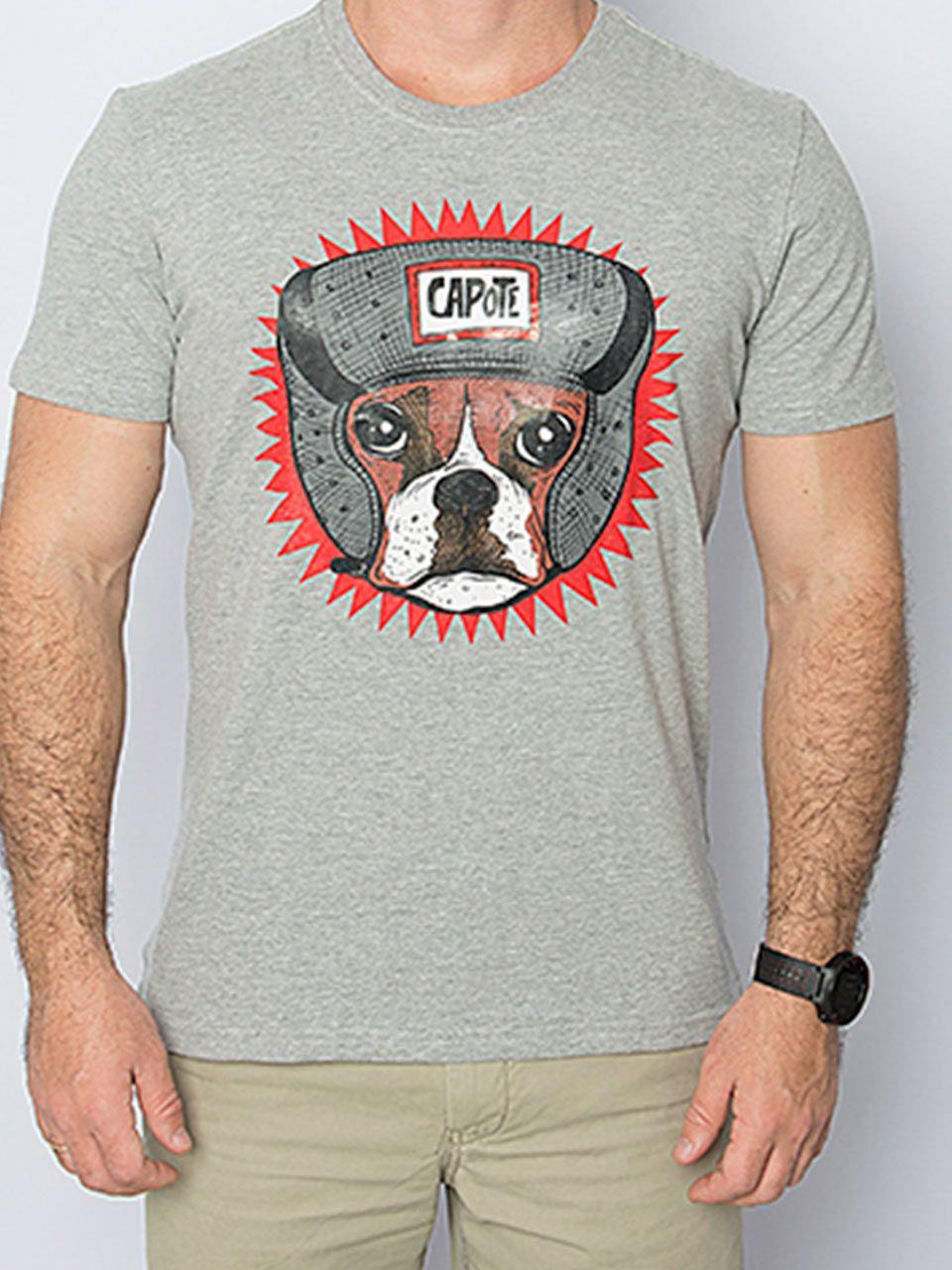 Camiseta Capote algodão BOXER