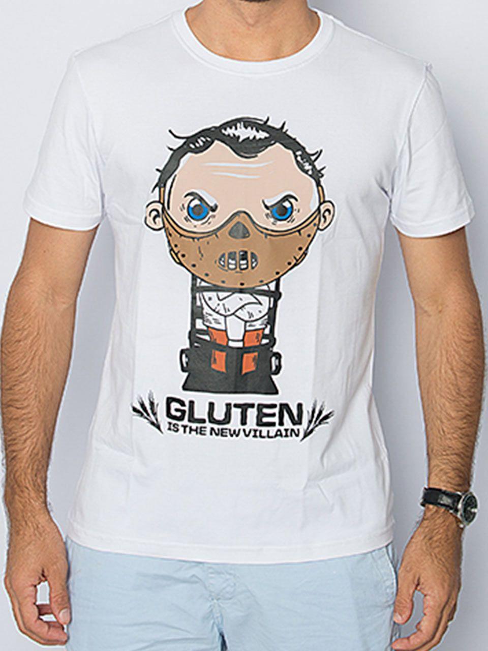 Camiseta Capote algodão GLÚTEN