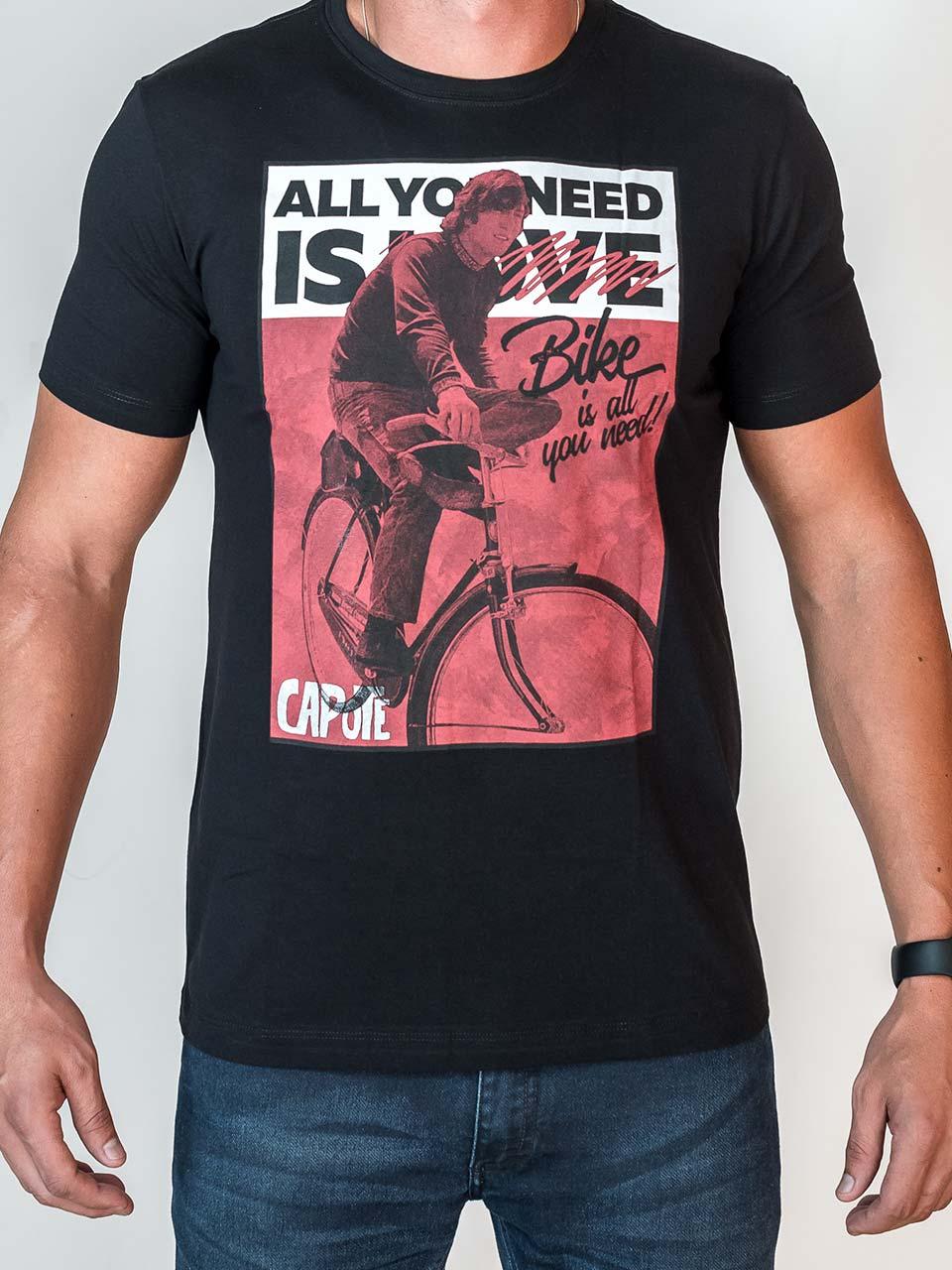 Camiseta Capote All you need
