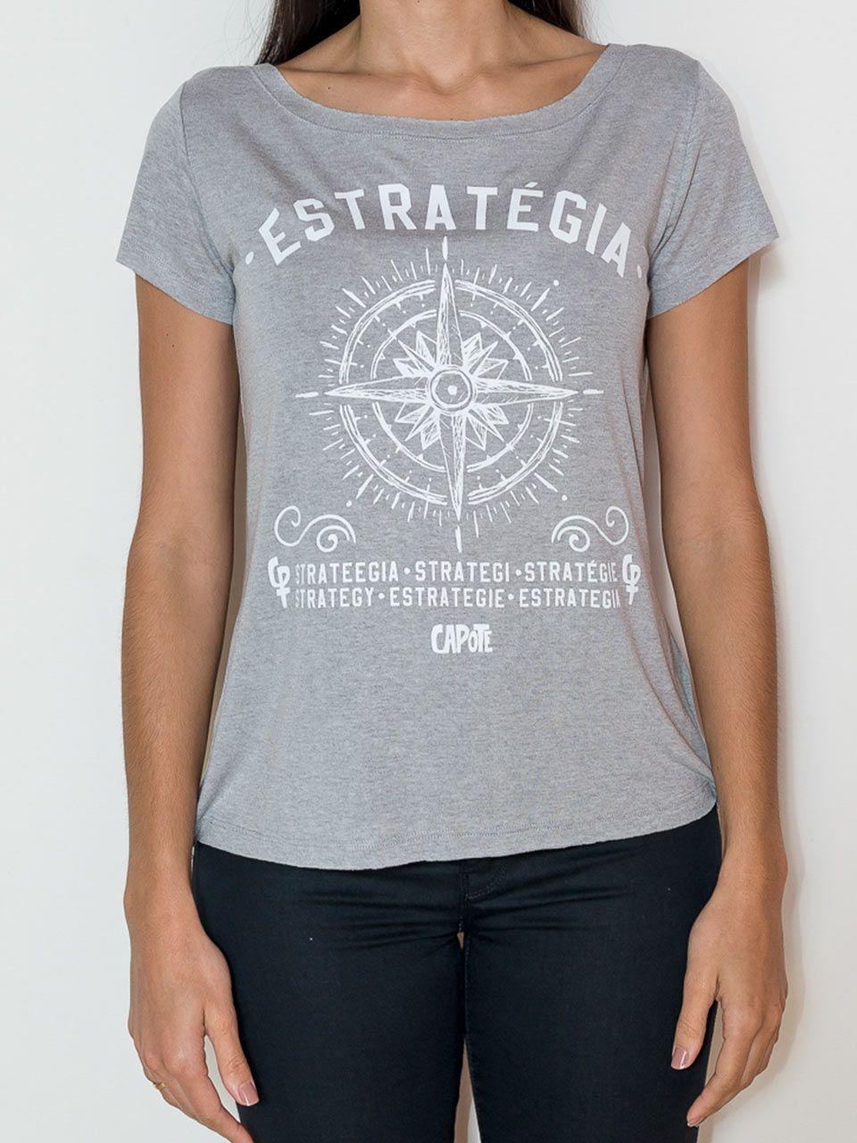 Camiseta Capote ESTRATÉGIA