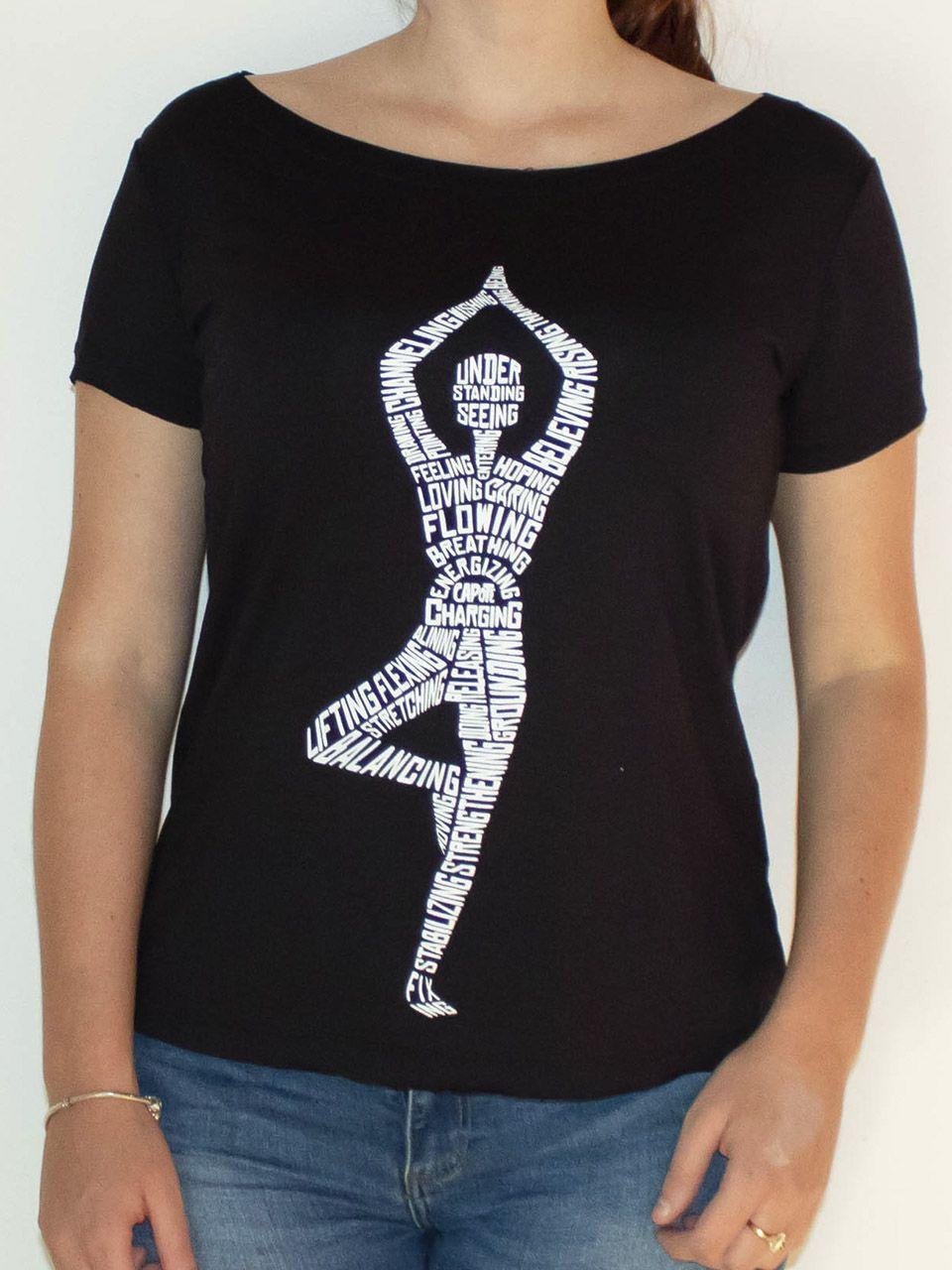 Camiseta Capote gola U YOGA