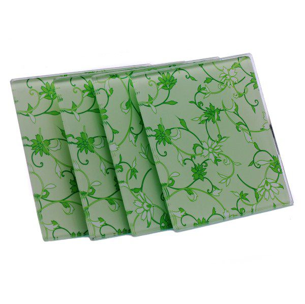 Descanso de Panela - Green Flowers (4 un)