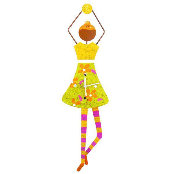 Relógio de Parede - Bailarina