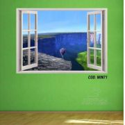 Adesivo Parede Janela 3D Up Altas Aventuras mod02