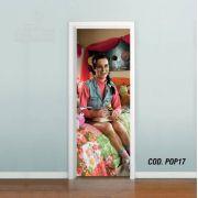 Adesivo De Porta Katy Perry mod05