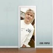 Adesivo De Porta One Direction Niall mod01