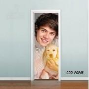 Adesivo De Porta One Direction Harry mod02