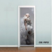Adesivo De Porta Lady Gaga mod05
