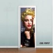 Adesivo De Porta Madonna mod04