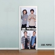Adesivo De Porta One Direction 1D mod01