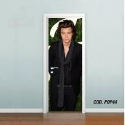 Adesivo De Porta One Direction Harry mod01