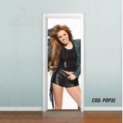 Adesivo De Porta Miley Cyrus mod04